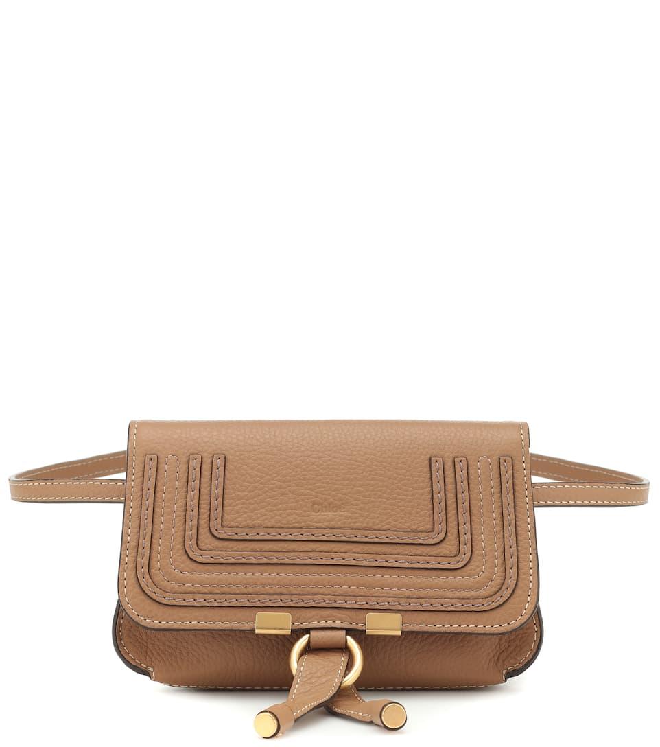 5bd376d8dea79b Chloé - Marcie leather belt bag | Mytheresa