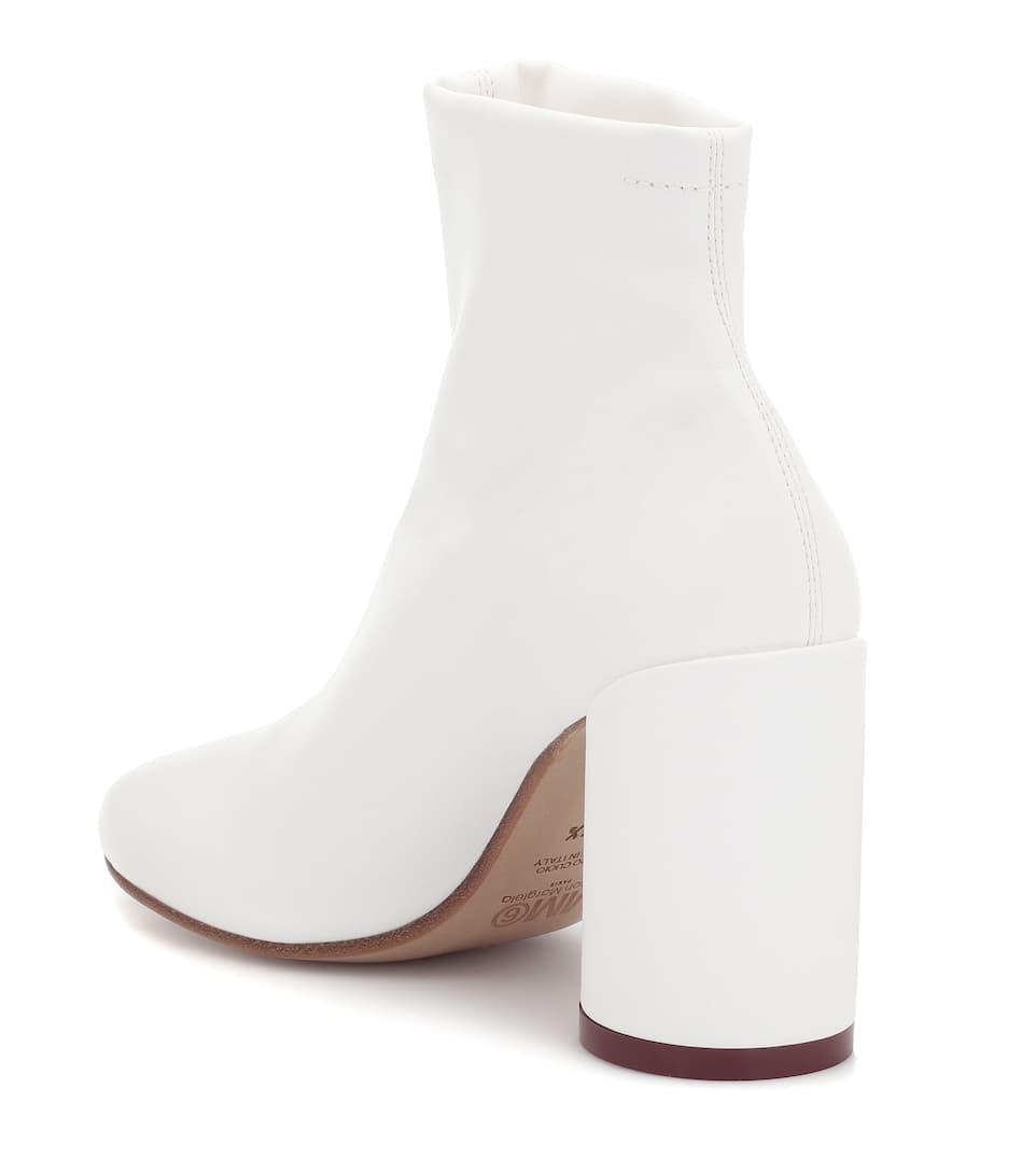 Aus LederMm6 Ankle Boots Maison nrnbsp;p00398121 Margiela Art OkPXuZi