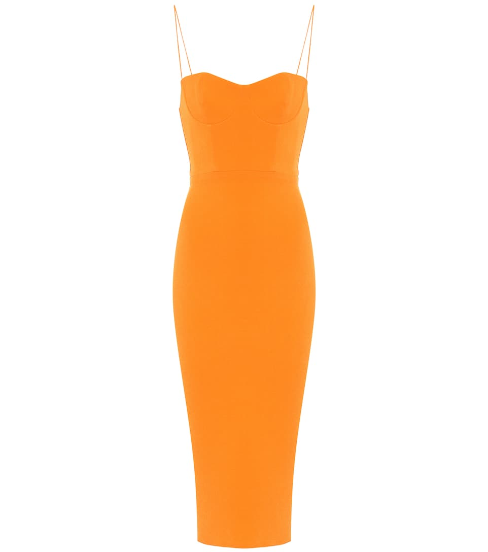 Orange Bodycon Dress (30% off!)