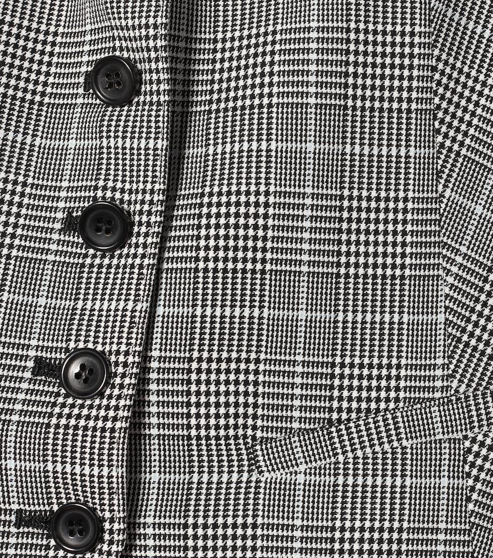Max Mara - Muriel houndstooth cotton vest