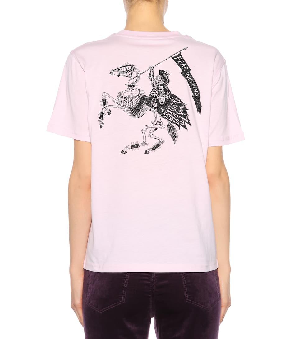 McQ Alexander McQueen T-Shirt aus Baumwolle mit Print Freies Verschiffen Offiziell Spielraum Perfekt Rabatt Aus Deutschland Für Schöne Online Wiki Zum Verkauf JisUSv77N