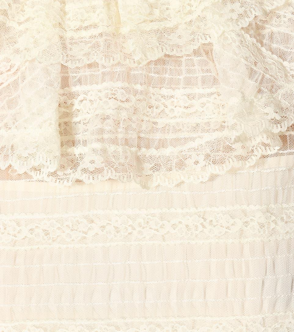 REDValentino - Robe en dentelle La Sortie Récentes Réduction Authentique Magasin De Sortie De Dégagement yhQKBbKql