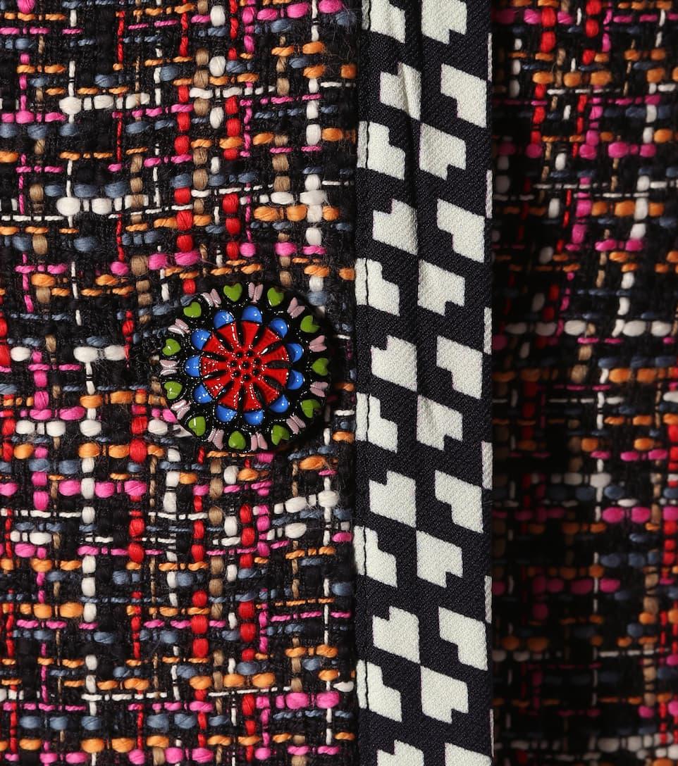 Etro Tweed-Mantel Outlet-Store Günstiger Preis i4yOXVhd