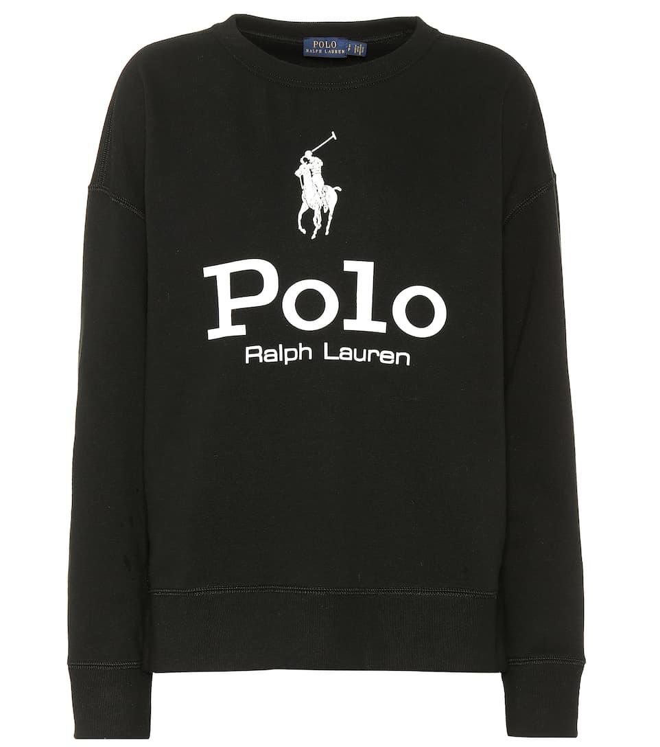 Printed Cotton-Blend Sweatshirt - Polo Ralph Lauren   mytheresa c1d00ab996a7