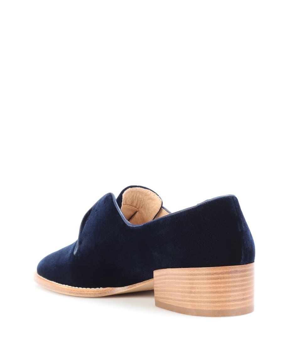 Gabriela Hearst Loafers aus Samt