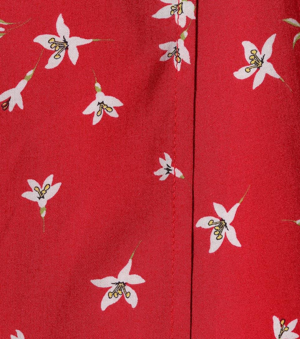 floral Velvet Velvet minivestido floral Amaury Velvet Amaury minivestido Amaryllis Amaryllis dnagWX