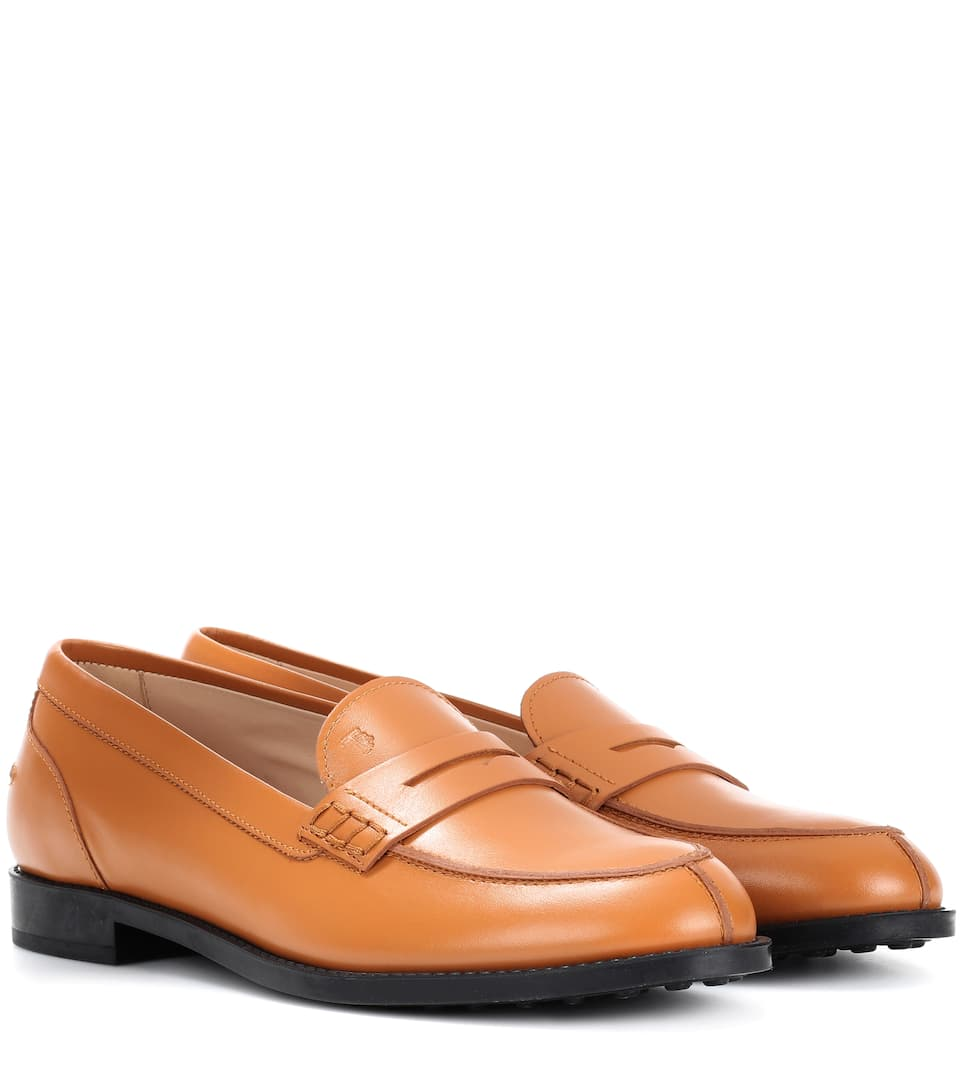 427d8fb3a Tod's - Gommino leather city loafers | mytheresa.com