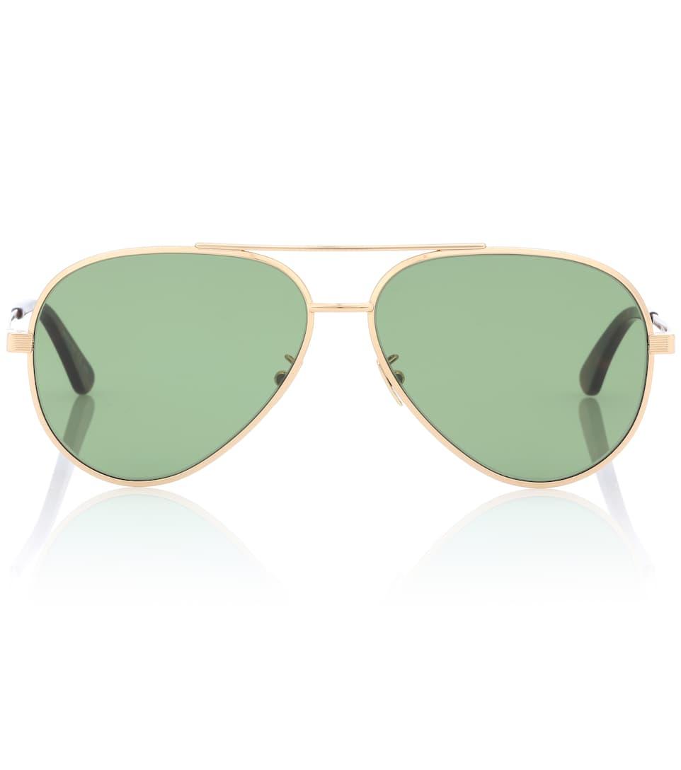95559897ac9a0 Classic 11 Zero Aviator Sunglasses - Saint Laurent