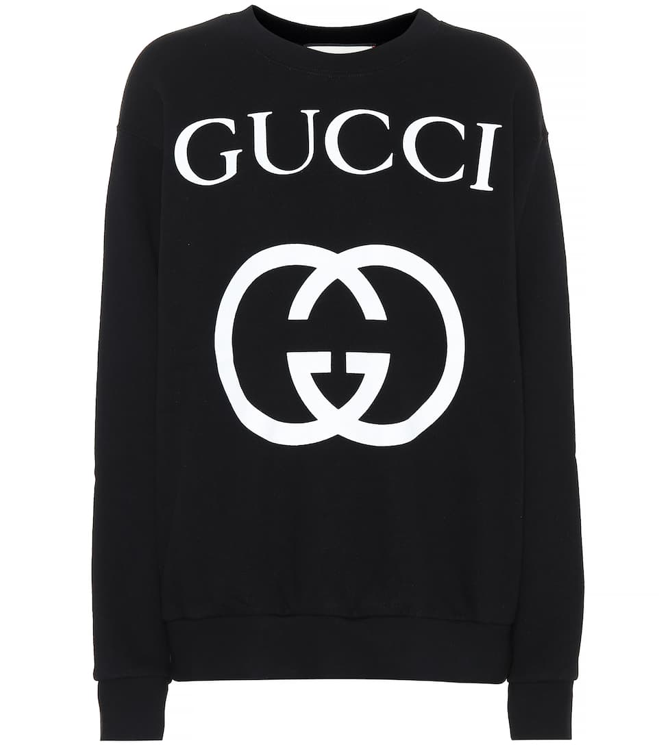 21101ccccc5 Oversized Printed Cotton Sweatshirt