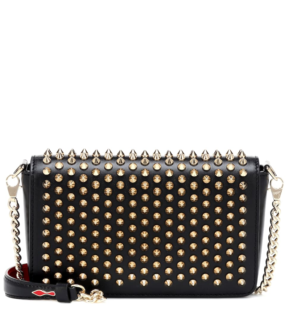 Zoompouch Leather Shoulder Bag by Christian Louboutin