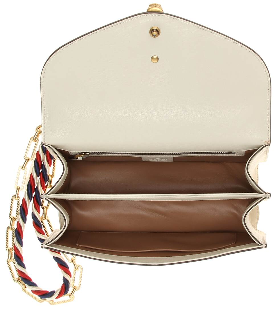 Angebote Online Gucci Schultertasche aus Leder und Schlangenleder Modestil Rabatt Verkauf Auslass Bester Verkauf Günstig Kaufen Besten Laden Zu Bekommen svS1p7k