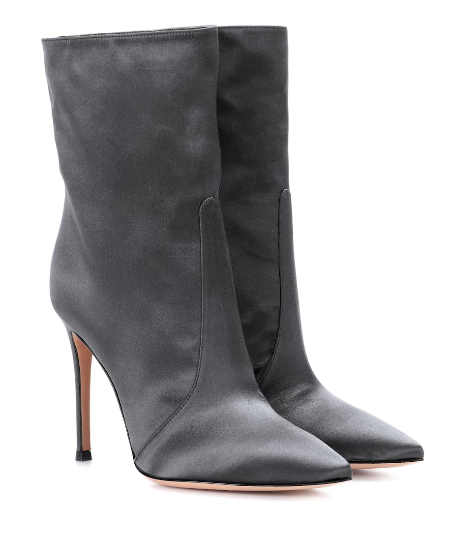 EXCLUSIVE TO MYTHERESA.COM - MELANIE SATIN ANKLE BOOTS