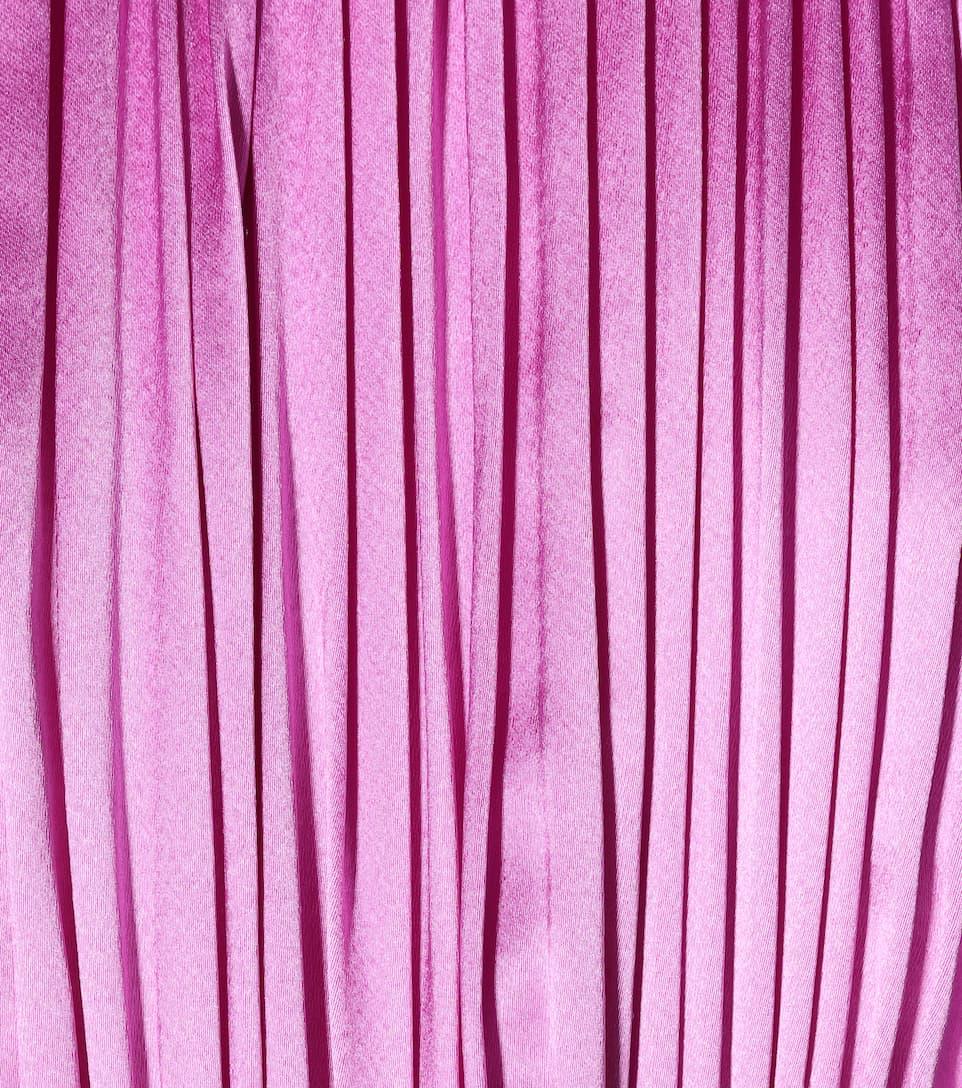 Billig Verkauf Breite Palette Von Bulk-Design Gucci Plissee-Robe aus Satin Spielraum Visa Zahlung Am Billigsten Online-Shopping Günstig Online ELzaAS