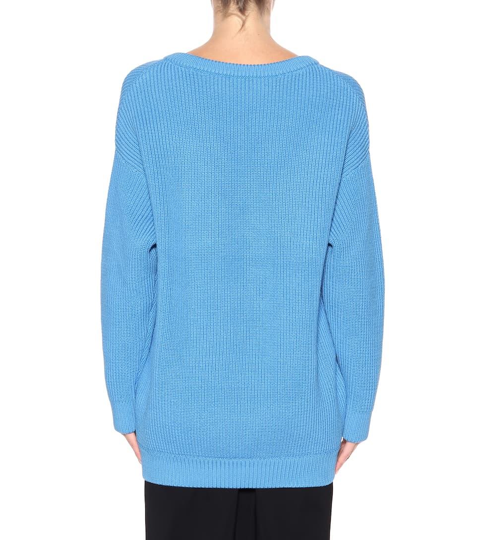 Balenciaga Pullover mit Baumwollanteil