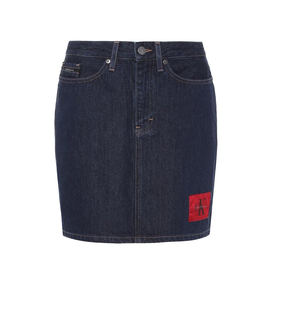 Calvin Klein Banhof A Jeans minifalda denim line UgwqAxUF