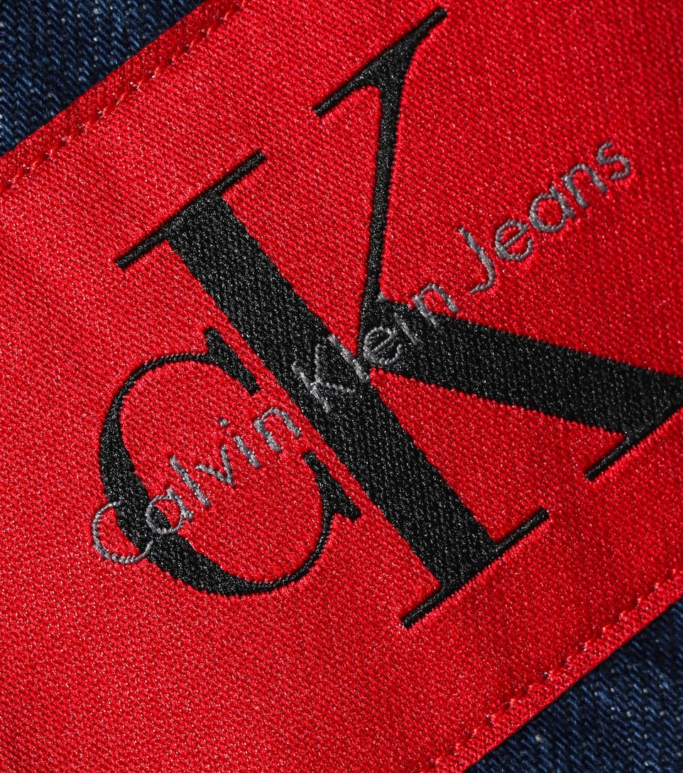minifalda A Klein Banhof denim line Calvin Jeans WxSUnvxX