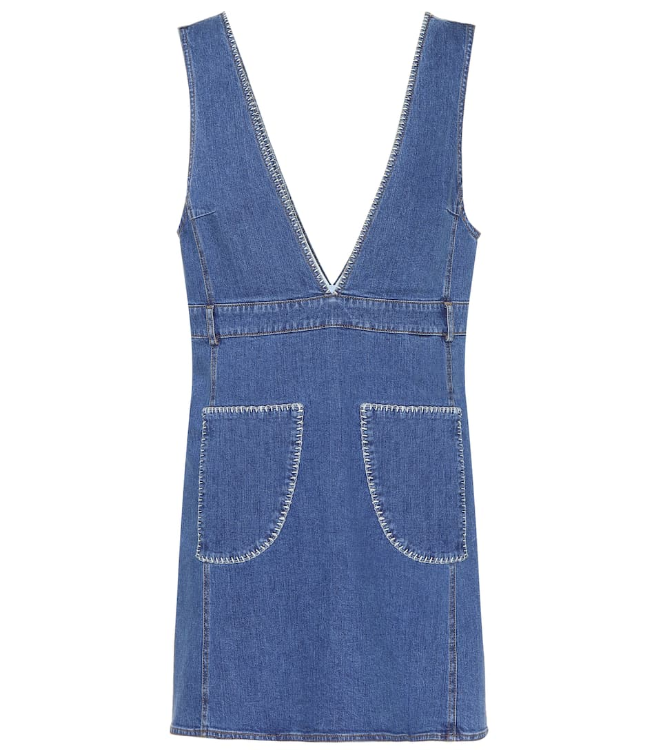 Blue By Shady denim Vestido Cobalt Chloé See dYw6fTqx6