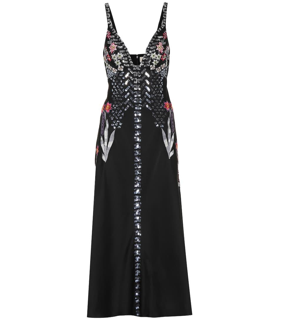 Temperley London - Finale embellished satin dress