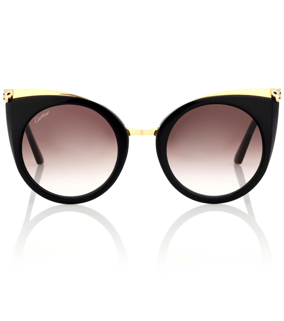 Gafas De Sol Cat Eye Panthère De Cartier by Cartier Eyewear Collection