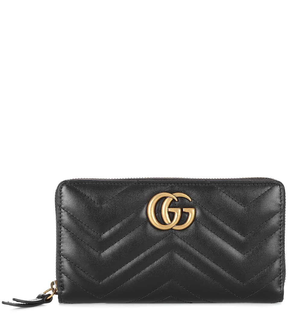 63ba425dd Gg Marmont Leather Wallet - Gucci | mytheresa.com