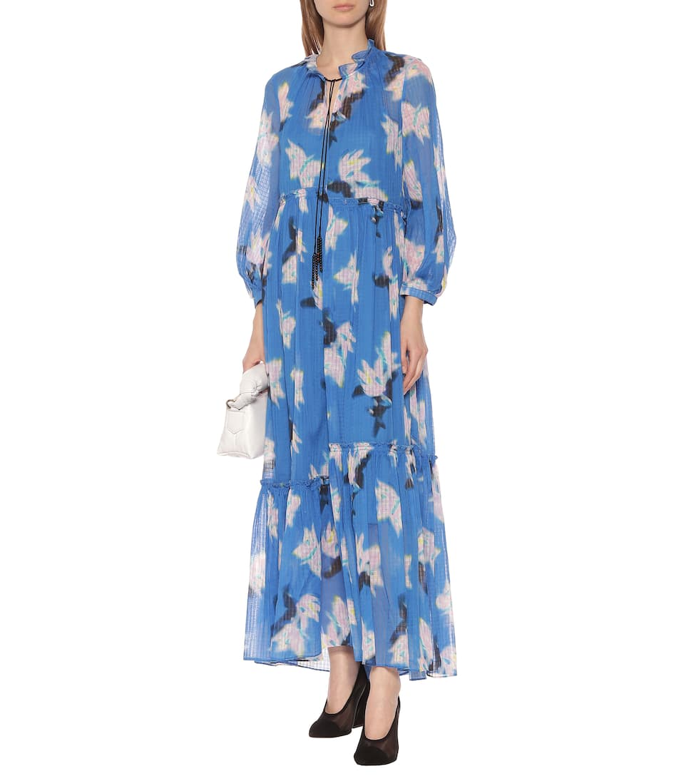 Energetic Mix Cotton Maxi Dress - Dorothee Schumacher