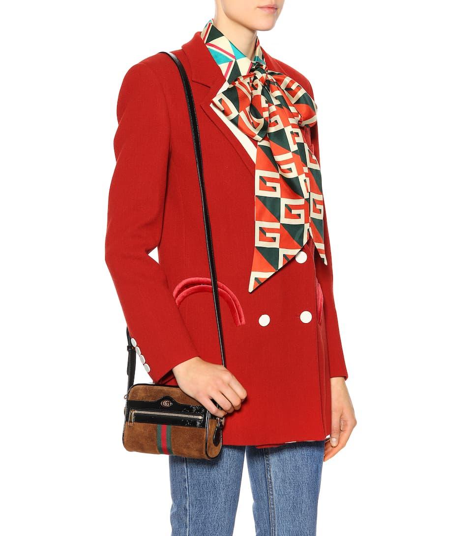 379cc0bce03b Ophidia Mini Suede Shoulder Bag | Gucci - mytheresa