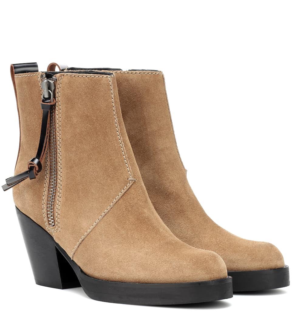 e52f693604b45 Suede Ankle Boots - Acne Studios | mytheresa.com