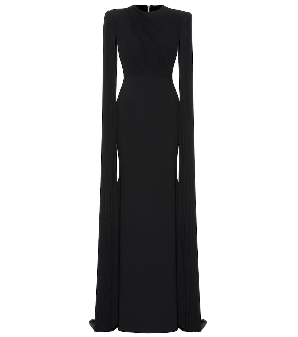 Alex Perry ALEX CRÊPE SATIN GOWN