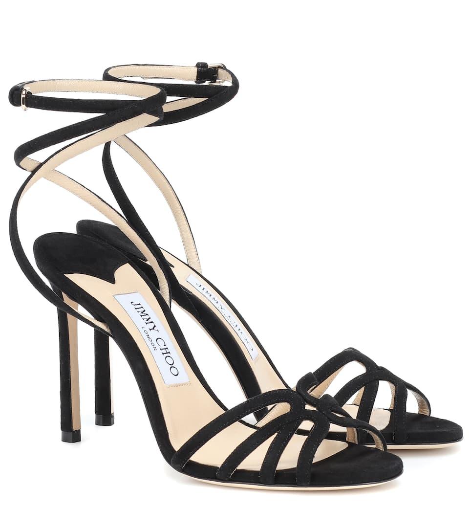 092b592c8f01 Mimi 100 Suede Sandals - Jimmy Choo