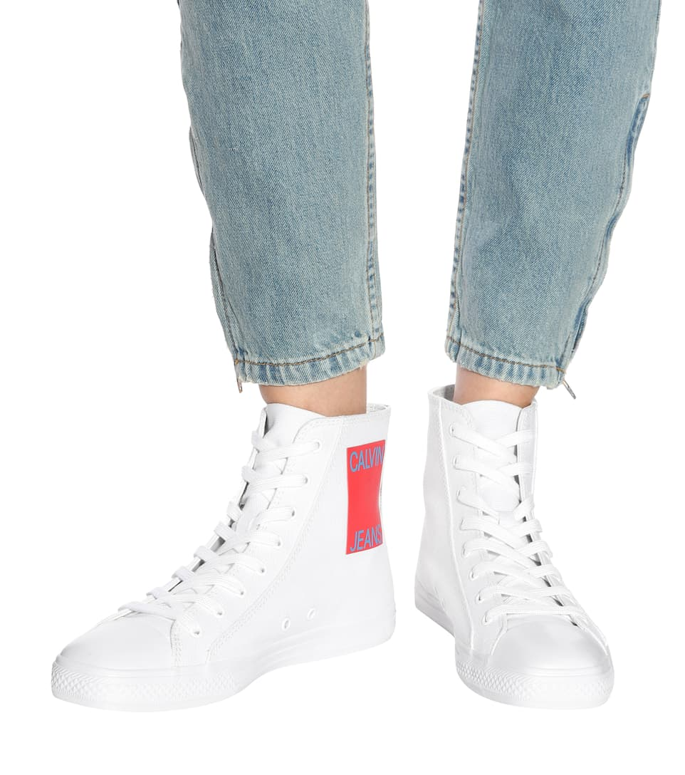 Calvin Klein 205W39NYC High-Top-Sneakers