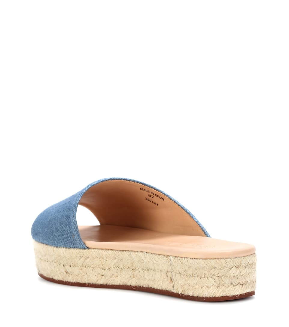 low price fee shipping Loro Piana Espadrille slides outlet wide range of best sale for sale 7mHIB