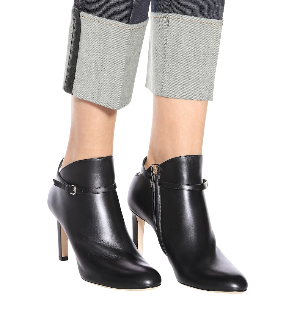 Cheap Many Kinds Of Jimmy Choo Tor leather ankle boots Black Cheap Factory Outlet Free Shipping Original Fashionable Cheap Sale Genuine dJQjNIdNW