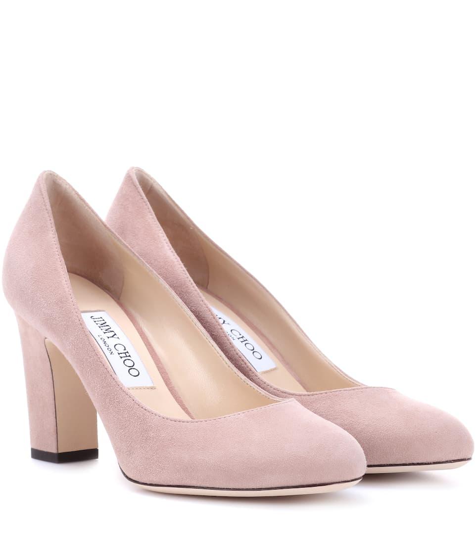 d05cf5427d0f Billie 85 Suede Pumps - Jimmy Choo