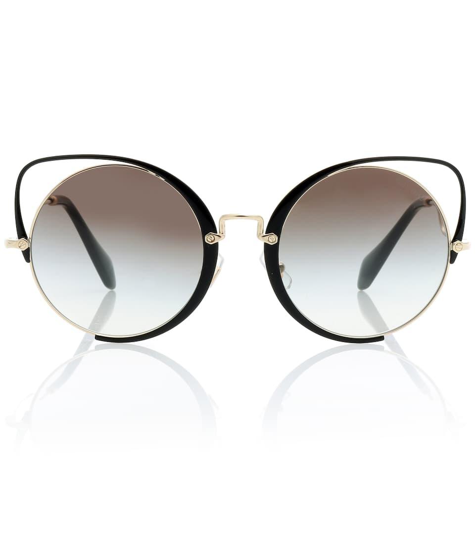 34e09c343480 Miu Miu Cat Eye Sunglasses « One More Soul