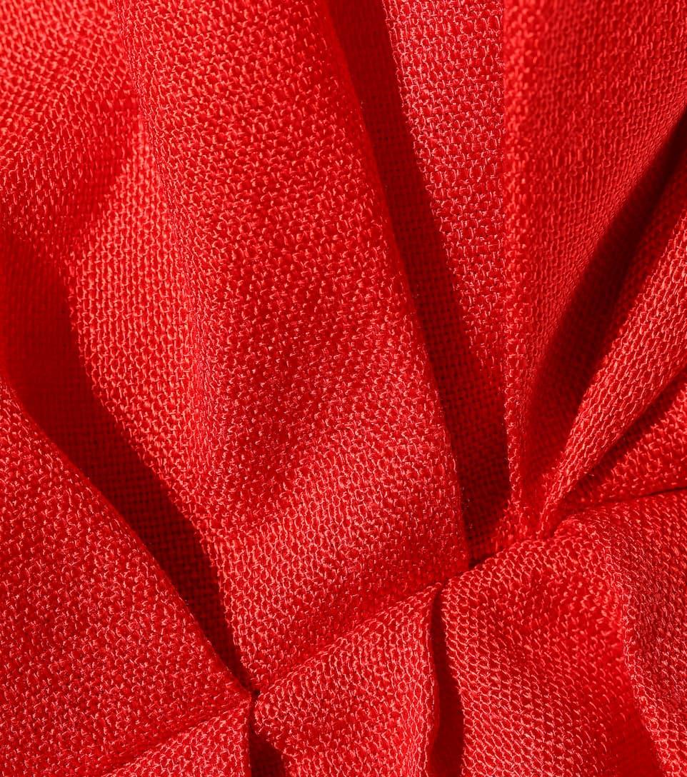 Delpozo - Robe asymétrique volantée Photos Pas Cher En Ligne 2018 Pas Cher En Ligne Le Plus Récent Meilleur Magasin Pas Cher Pour Obtenir Faux Pas Cher En Ligne Eastbay Prix Pas Cher A3vHgN