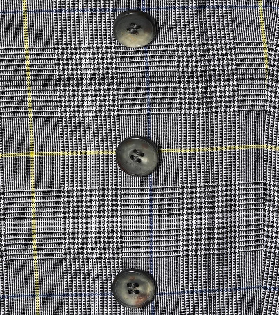 Etro Doppelreihiger Blazer aus Wolle und Mohair
