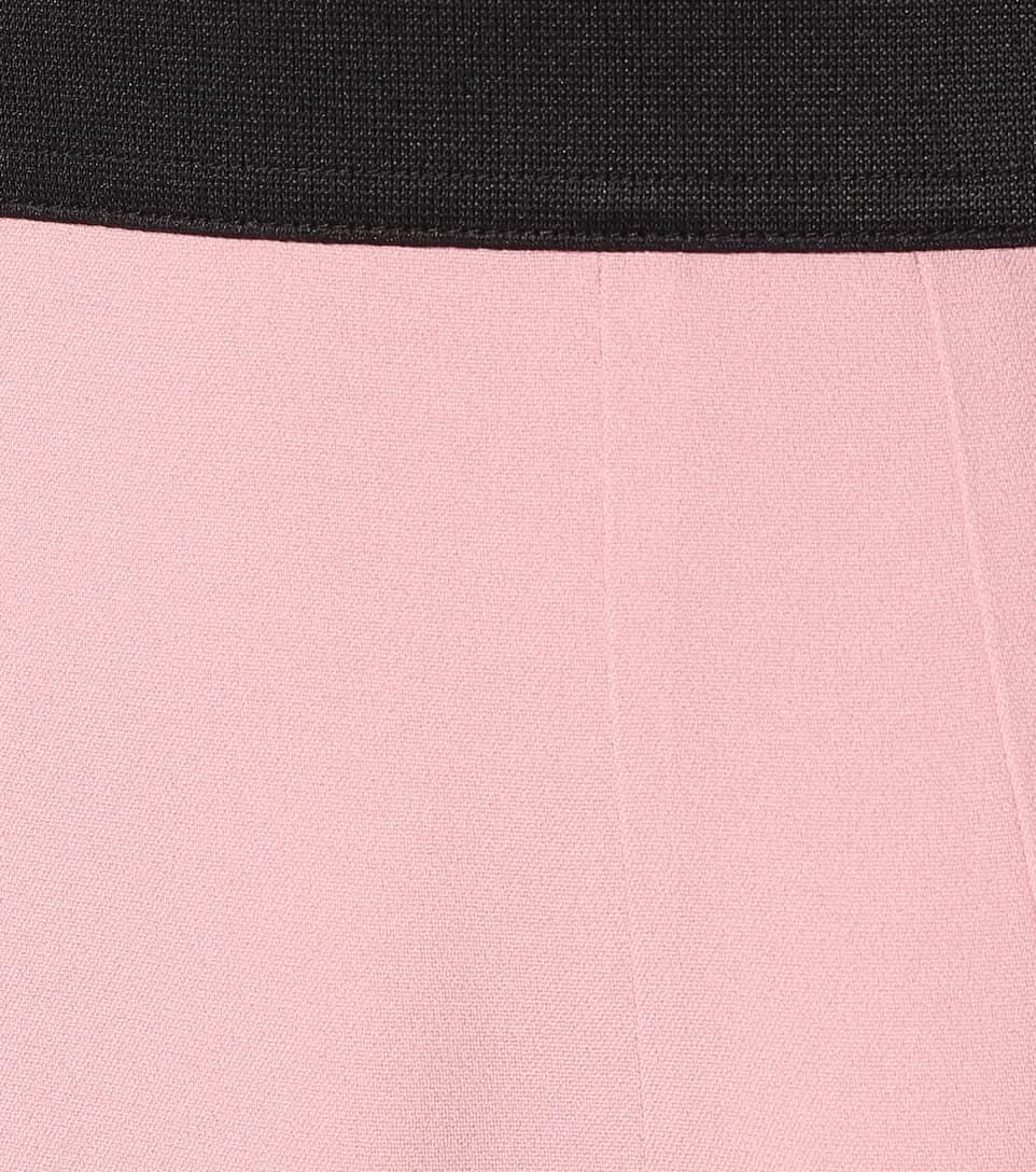 High-Rise Stretch-Cady Pencil Skirt | Dolce & Gabbana