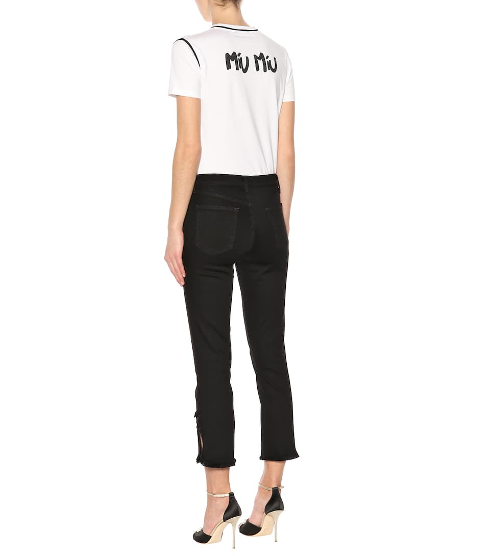 J Brand Cropped Jeans Ruby