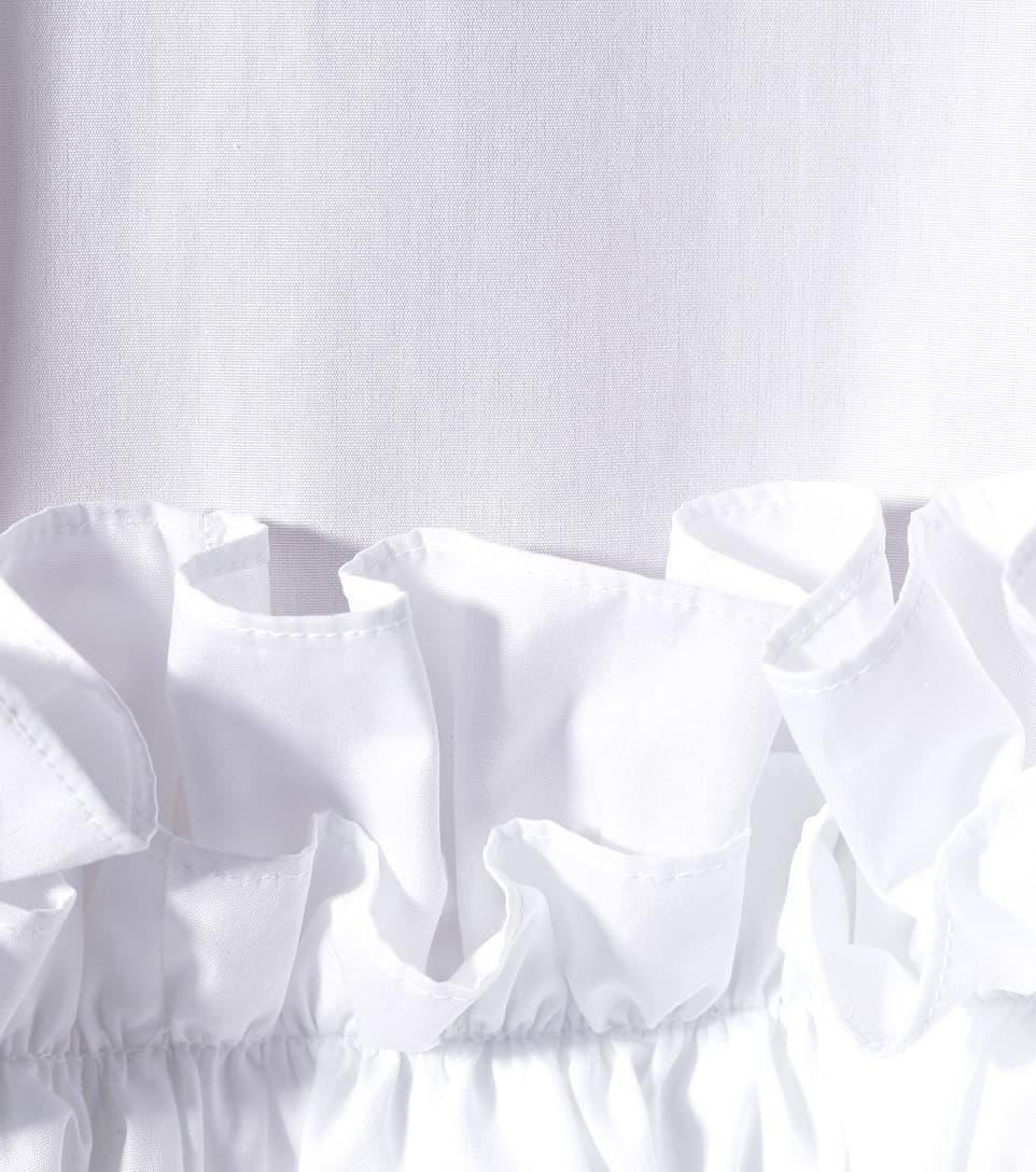 Alexander McQueen Minikleid aus Baumwollpopeline