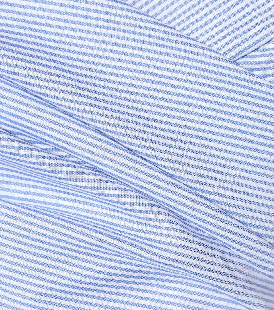 Isa Arfen - Robe en coton rayé