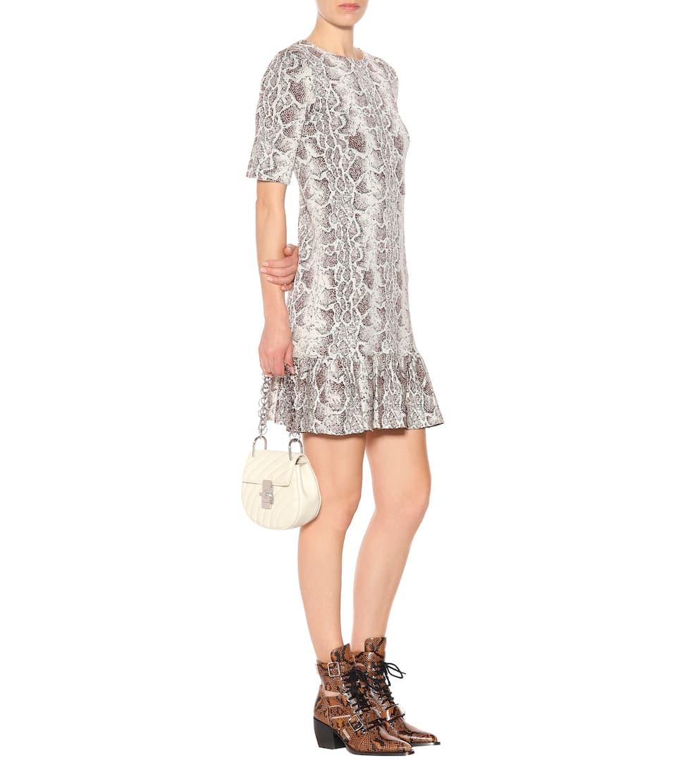 Chloé Kleid aus Jacquard Fabrikverkauf tI2sw1y