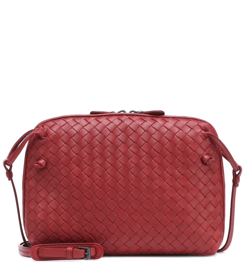 e33a40d6c6 Nodini Intrecciato Leather Crossbody Bag