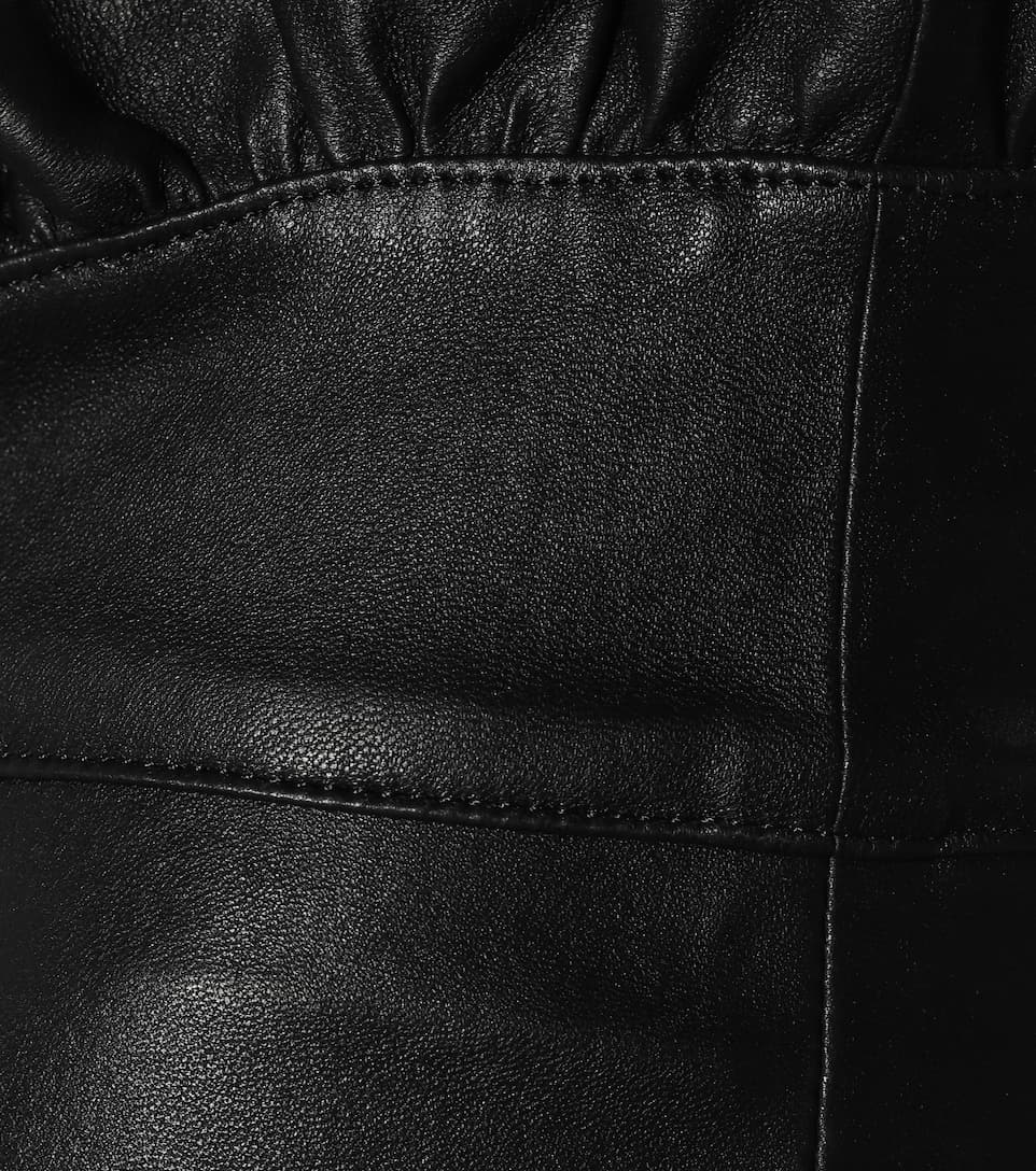 a87f5a20d3a635 Jumpy High-Rise Slim Leather Pants | Isabel Marant - mytheresa.com