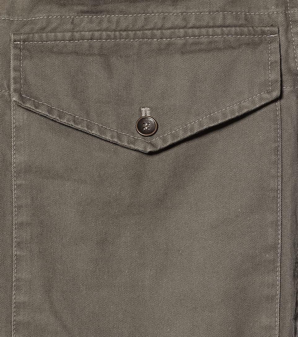High-Rise Cotton-Blend Cargo Pants | Saint Laurent - Mytheresa