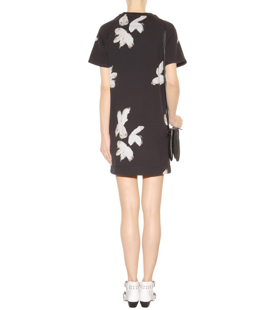 t shirt kleid grand floral mit print marc by marc jacobs. Black Bedroom Furniture Sets. Home Design Ideas