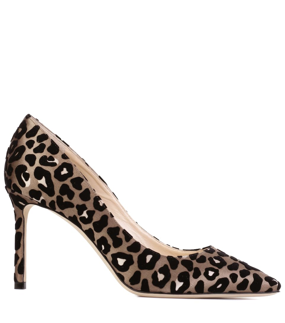 Jimmy Choo Pumps Romy 85 aus Satin