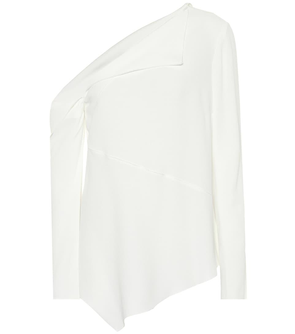 Kosten Online Versorgung Günstiger Preis Proenza Schouler Asymmetrische Bluse aus Crêpe Großer Verkauf 100% Authentisch Online Rfo7K