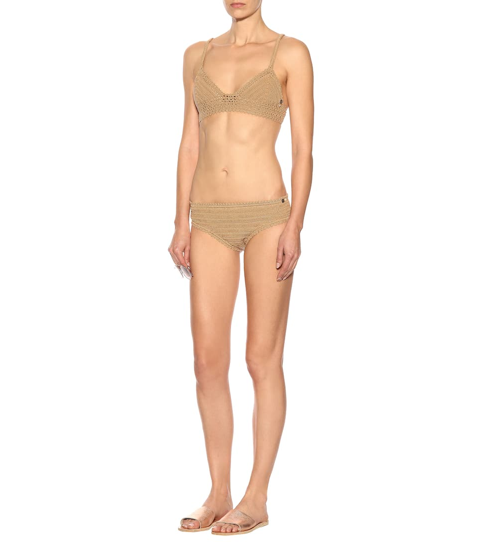 She Made Me Bikini-Oberteil Baby Doll aus Baumwolle