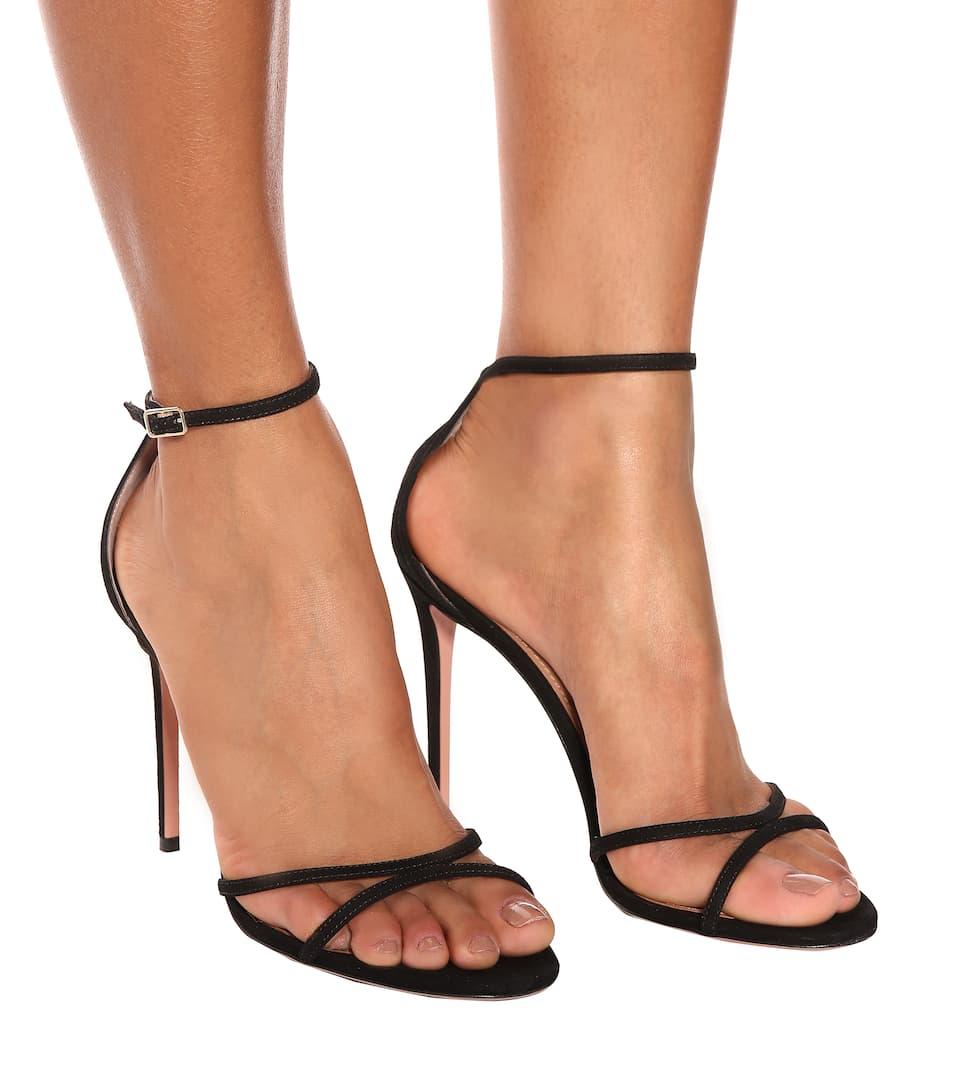 e25e462b673 Purist 105 Suede Sandals - Aquazzura