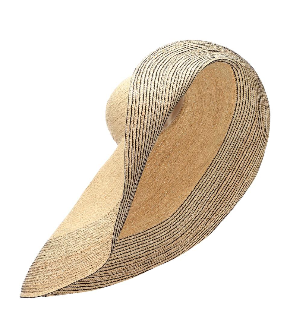 Spinner Raffia Hat by Lola Hats